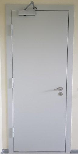 Specialios paskirties priešgaisrinės plieninės FD 30 vienvėrės durys